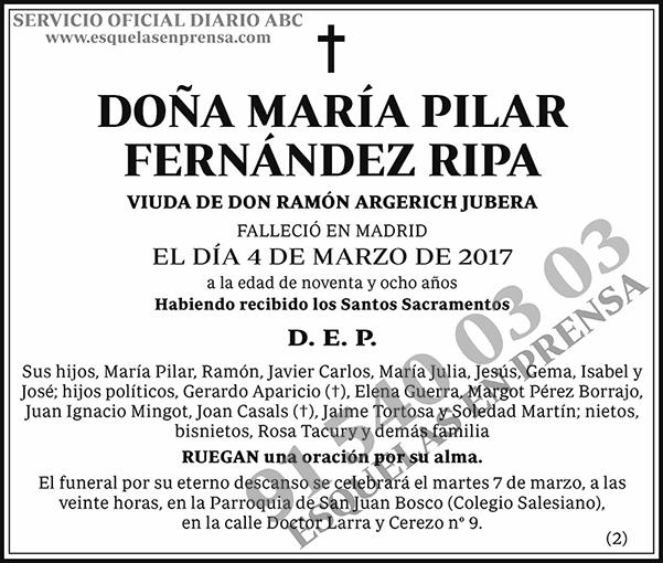 María Pilar Fernández Ripa